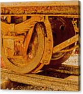 The Old Railway Wagon Canvas Print
