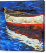 The Old Red Boat II  Canvas Print