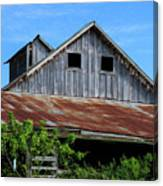The Old Rusty Barn Canvas Print