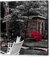 Smokehouse Red Canvas Print
