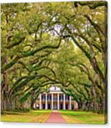 The Old South Version 3 Canvas Print