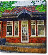 The Old Train Station Canvas Print