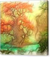 The Old Tree Of The Forest Canvas Print