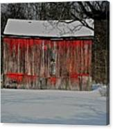 The Old Weathered Barn Canvas Print
