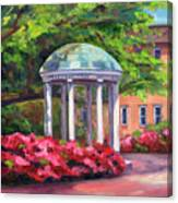 The Old Well Unc Canvas Print