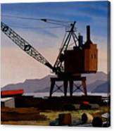 The Oldcrane Canvas Print
