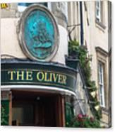 The Oliver Pub Canvas Print