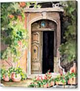 The Open Door Canvas Print