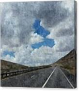 The Open Road Canvas Print
