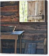 The Open Window Canvas Print