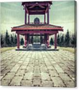 The Oriental Touch Canvas Print