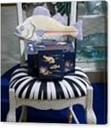 The Original Fish Chair  Canvas Print