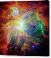 The Orion Nebula Close Up II Canvas Print