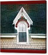 The Ornamented Gable Canvas Print