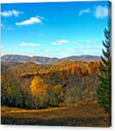 The Other Side Of The Road In Wv Canvas Print