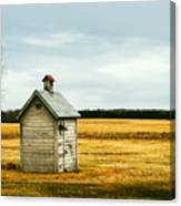 The Outhouse Canvas Print