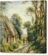 The Outskirts Of Berneval  Canvas Print