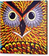 The Owl Stare Canvas Print