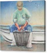 The Oysterman Canvas Print