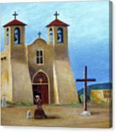 The Padre's Prayer Canvas Print
