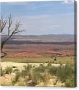 The Painted Desert Of Utah 1 Canvas Print