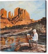 The Painter Woods Canvas Print