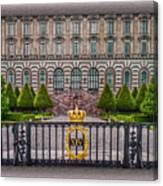 The Palace Courtyard Canvas Print