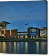 The Palace On The Brazos Canvas Print