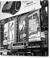 the Palace theatre Times Square New York City USA Canvas Print