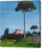 The Palatine Hill, Rome Canvas Print