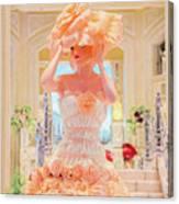 The Palazzo Casino Venetian Rose Dress Canvas Print