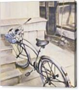The Paper Route Canvas Print