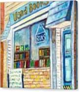 The Paperbacks Plus Book Store St Paul Minnesota Canvas Print