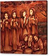 The Parable Of The Ten Virgins Canvas Print
