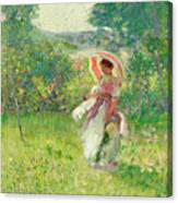 The Parasol Canvas Print