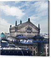 The Paris Opera 3 Art Canvas Print