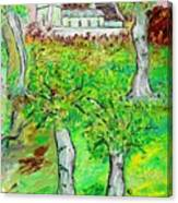 The Parish Curch Canvas Print