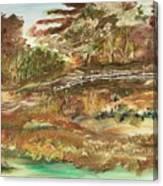 The Park Canvas Print