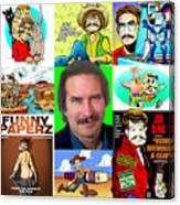 The Parody Years Canvas Print