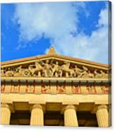 The Parthenon In Nashville Tennessee 2 Canvas Print
