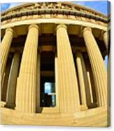 The Parthenon In Nashville Tennessee 3 Canvas Print