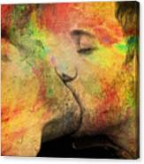 The Passion Of A Kiss 1 Canvas Print