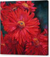 The Passion Of Red Canvas Print