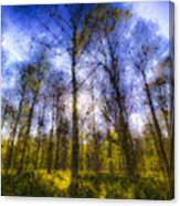 The Pastel Forest Canvas Print
