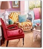 The Pastel Suite Canvas Print