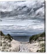 The Path To The Beach Canvas Print