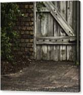 The Path To The Doorway Canvas Print