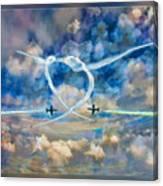 The Patriots Jet Team Canvas Print