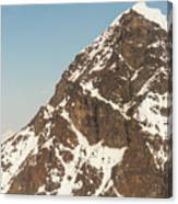 The Summit Of Mount Denali 19,000 Feet  Canvas Print