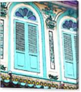The Peranakan Building  Canvas Print